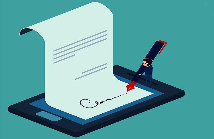 Подписание отчета с помощью ЭЦП